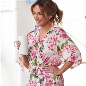 Show Me Your Mumu Pink Floral Brie Robe